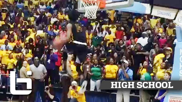 Michael Taylor EPIC Between His Legs for Slam to Win State Championship!