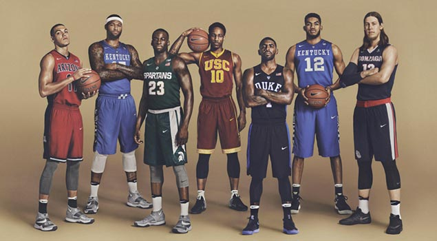 NIKE BASKETBALL RULES MARCH MADNESS PAST AND PRESENT