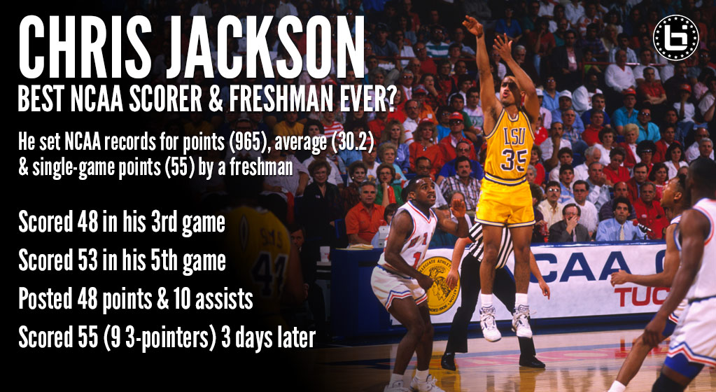 Chris Jackson – The Best NCAA Freshman Scorer Ever?