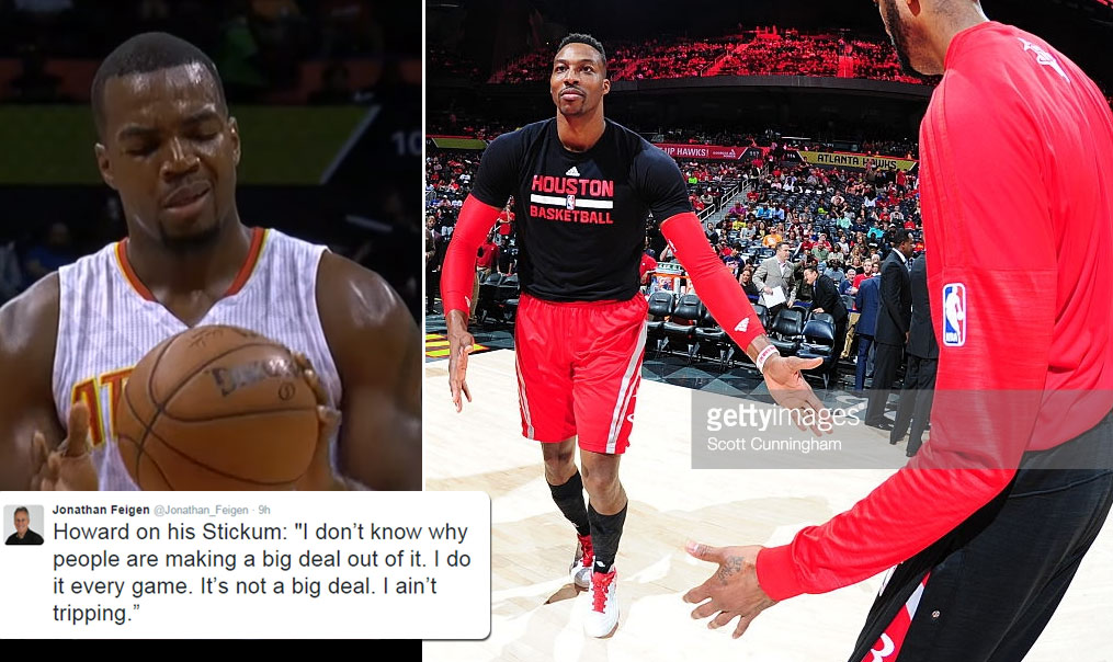 Dwight Howard Busted For Using Illegal Stickum In The Game, Says It's Not A Big Deal