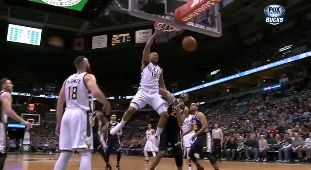 Jabari Parker Adds Rudy Gobert To His 2015/16 Dunked On List