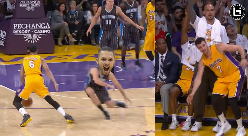 Jordan Clarkson's Crossover on Fournier Was So Nasty It Made His Teammate Stumble