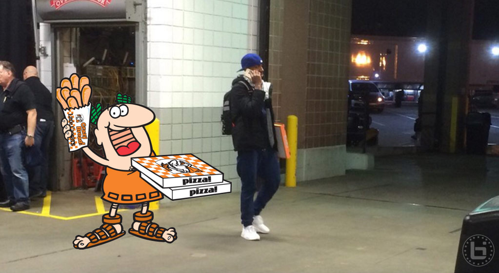 The Hawks Forgot Jeff Teague & His $5 Little Ceasers Pizza At The Palace