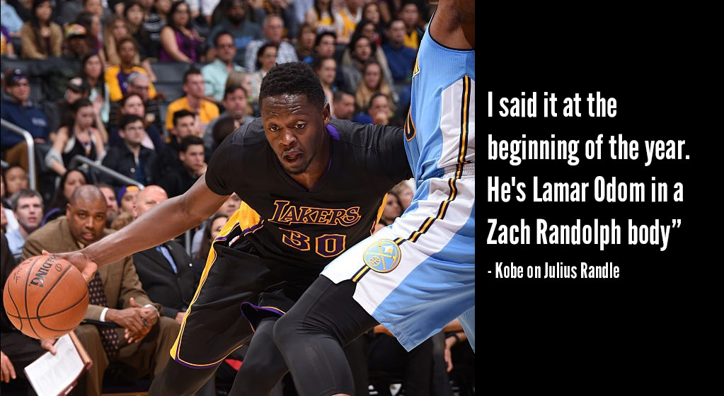 Julius Randle Becomes Youngest Laker With A Triple-Double Since Magic Johnson