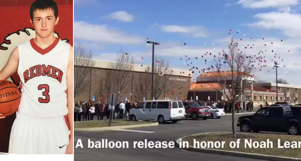 Over 1000 People Showed Up To The Funeral Of Teen Who Died From A Basketball Accident