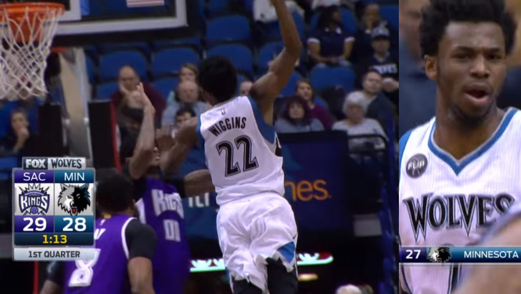 Does Andrew Wiggins' Dunk Over Willie Cauley-Stein Crack His Top 5 Dunks List?