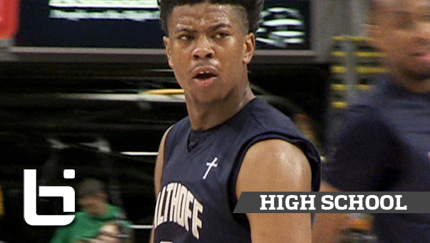 6'4 Jordan Goodwin Goes Beast Mode! Althoff Wins First State Title!