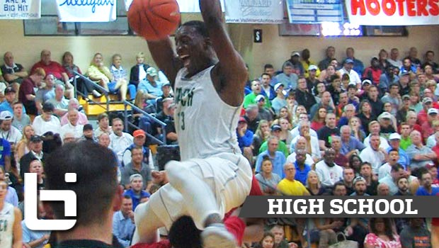 Bam Adebayo Most Hype Plays of Senior Year: Kentucky's Next BEAST!