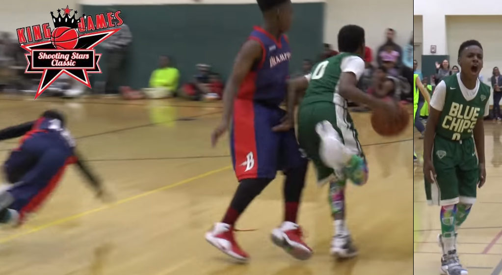 LeBron James Jr Shows Out At 2016 King James Classic