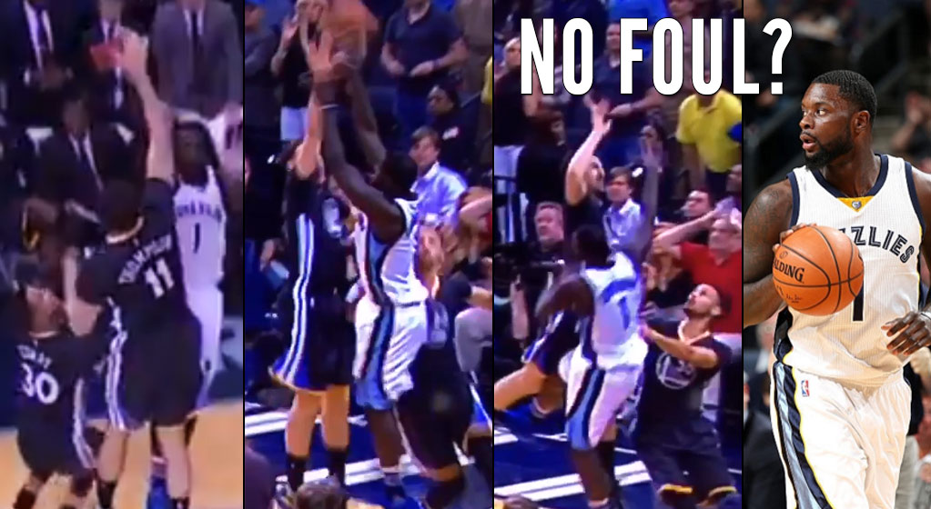 Was Lance Stephenson Fouled By Steph Curry or Thompson On This Potential Game-Winner