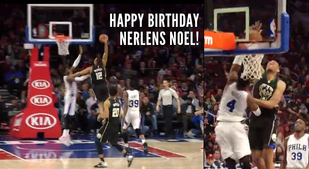Jabari Parker Dunks on Nerlens Noel On His Birthday