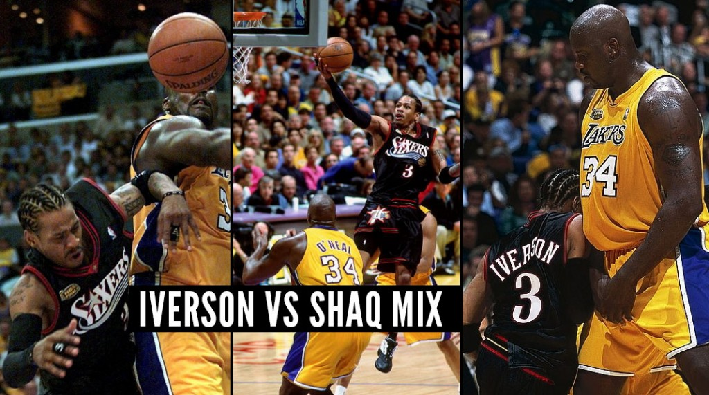 Allen Iverson Challenging Shaquille O'Neal Compilation Mix