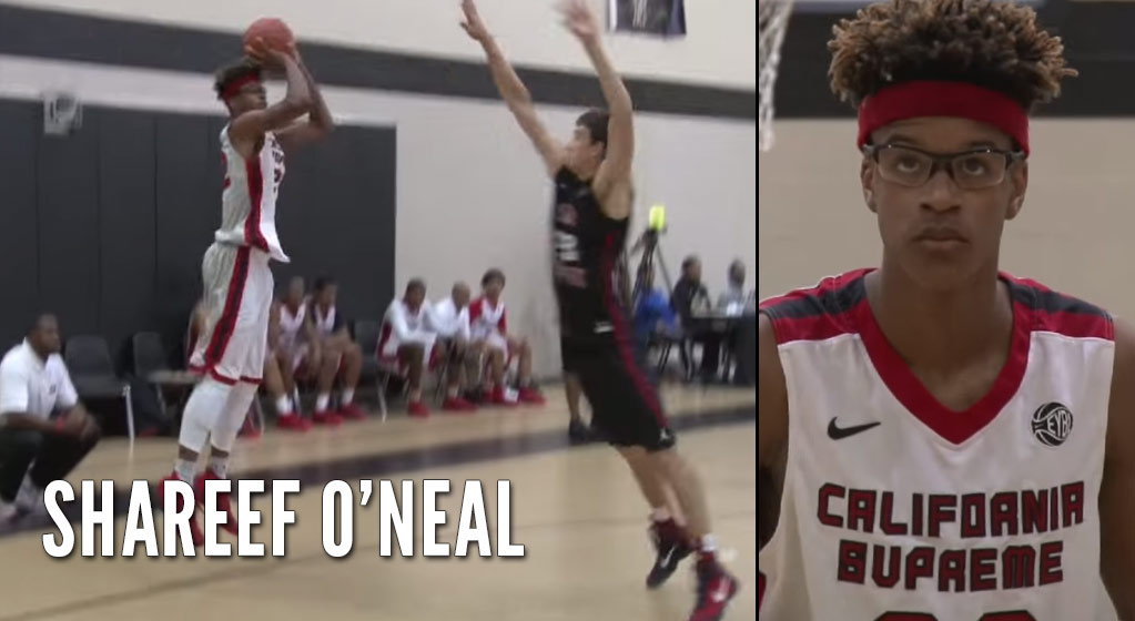 Class of 2018 Shareef O'Neal Continues to Impress At Nike EYBL Event