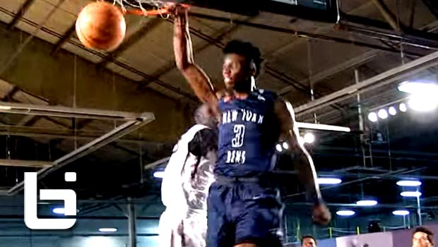 Hamidou Diallo Hits NYC & Makes A STATEMENT in EYBL Debut!