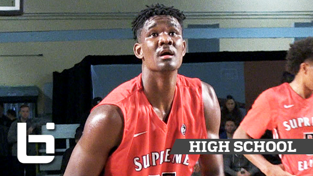 Top Prospect 7ft DeAndre Ayton Dominates in Nike EYBL Debut!