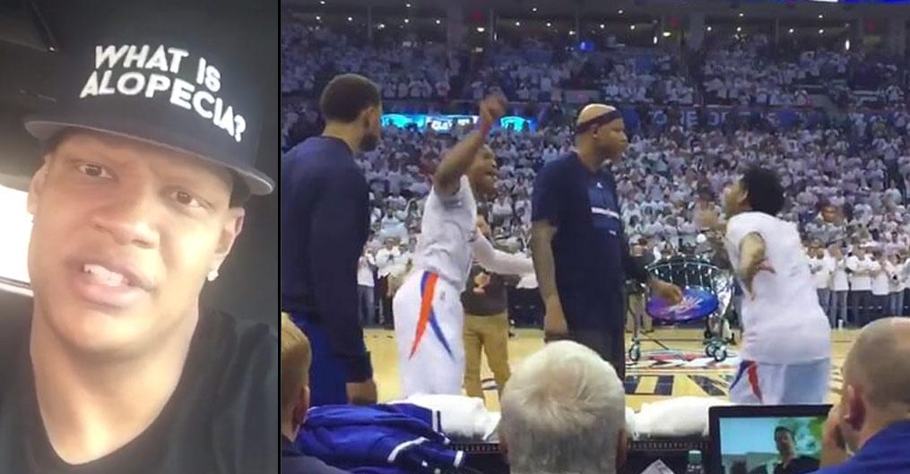 "Charlie Villanueva Responds To Westbrook & KD, ""Go To A Dance Club"""