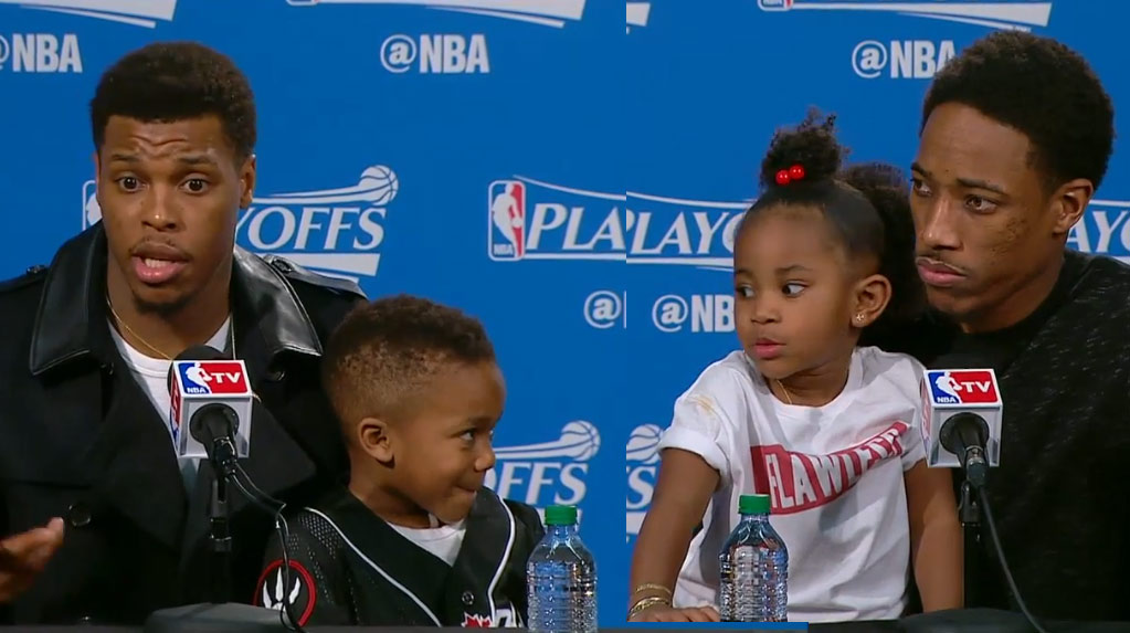 Cute Kids Are Taking Over The NBA Playoffs Postgame Conferences Again