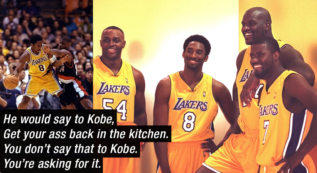 Storytime: The Day Kobe Bryant Destroyed A Trash-Talking JR Rider In Practice
