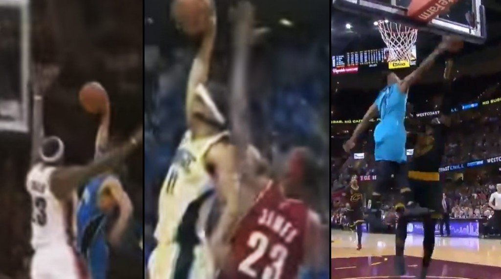 """Courtney Lee Chase Down Block On LeBron (who has been """"dunked on"""" twice by Lee)"""