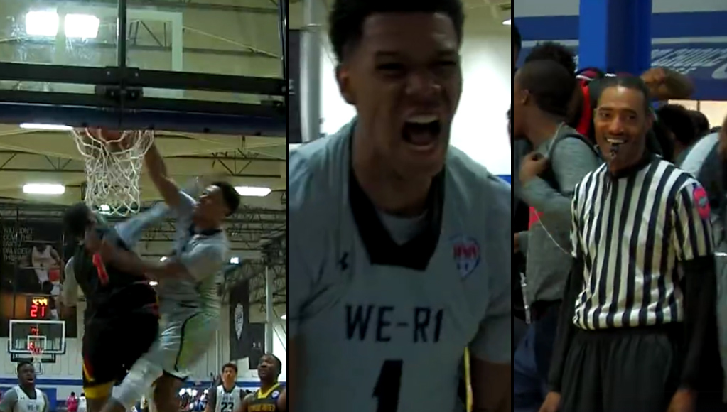 Class of 2017 Trevon Duval Destroys Defender at UAA Event
