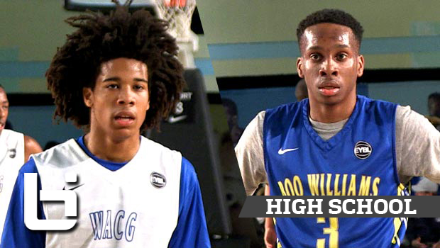 Tyger Campbell vs Matt Coleman: Elite Young Point Guards Collide at EYBL!