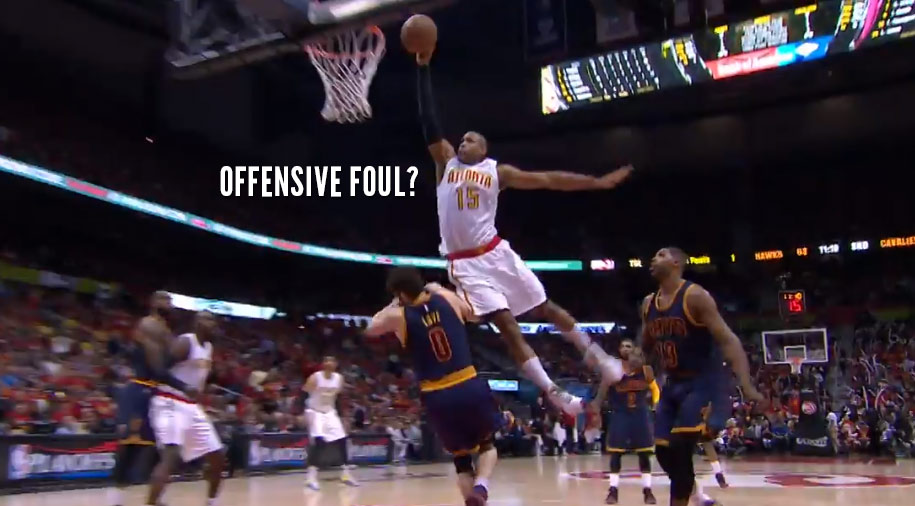 Al Horford Posterizes Kevin Love! Was It A Charge?