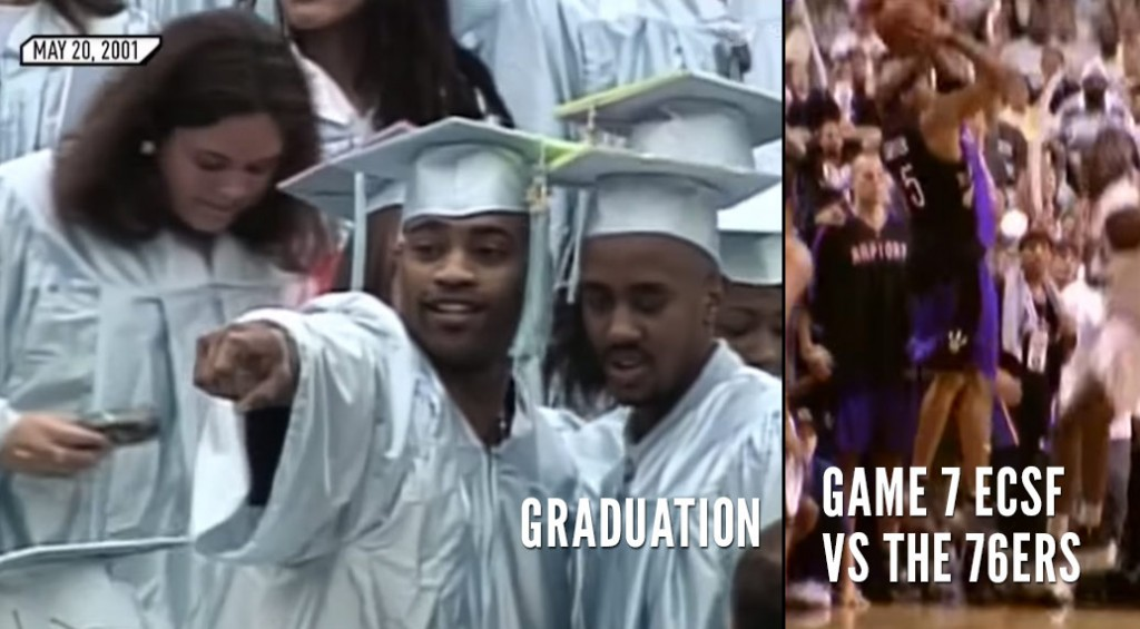 (2001) Vince Carter's Bittersweet Graduation Day Ends With A Missed Shot In GM7
