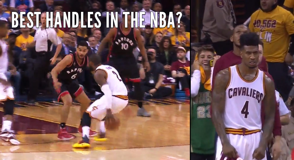 Shumpert's Expression Shows How Nasty Kyrie Irving's Move On Cory Joseph Was