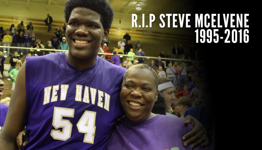 Dayton Center Steve McElvene Dies At Age 20