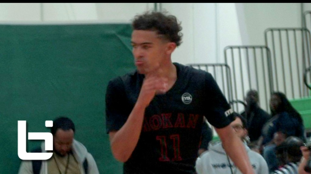 Trae Young Records FIRST Triple-Double of EYBL! Hampton Raw Highlights!