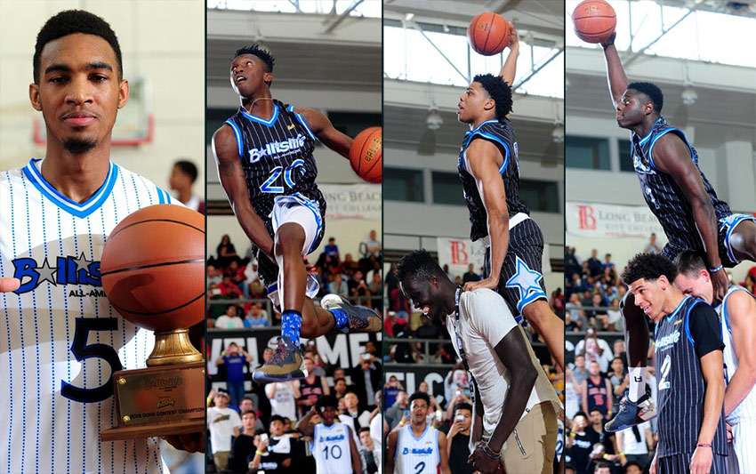 "Terrance ""2k"" Ferguson Windmills From The FT Line! Wins 2016 Ballislife All-American Dunk Contest"