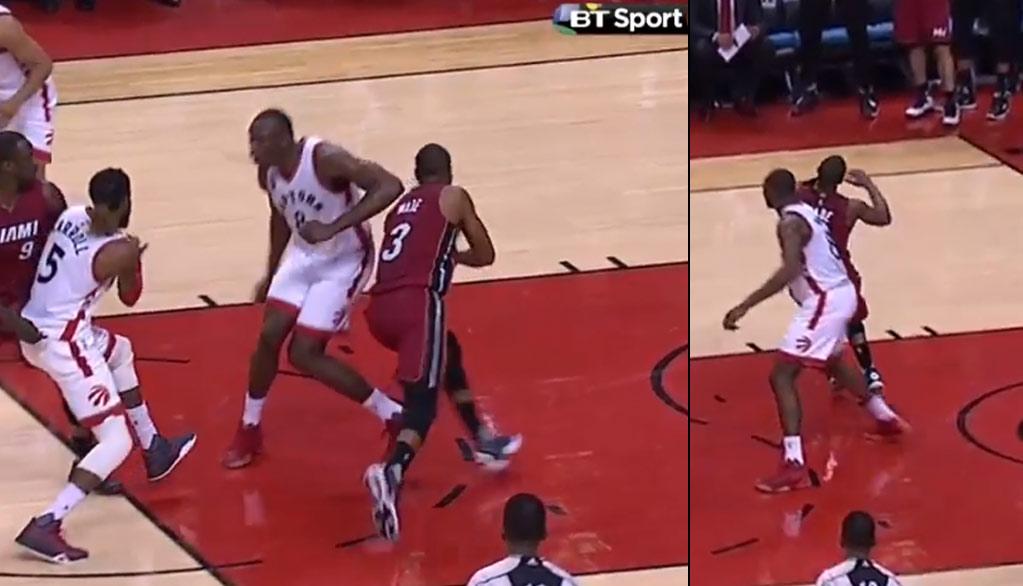Dwyane Wade Had The Best Flop Of The Series In GM7 vs the Raptors