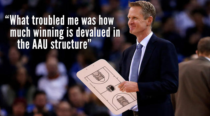 "Steve Kerr's Thoughts on ""Counterproductive"" AAU Culture"