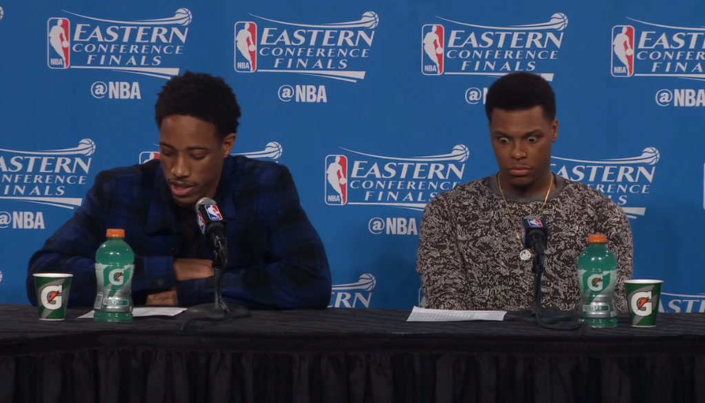 Kyle Lowry Couldn't Believe The Stats From Game 5