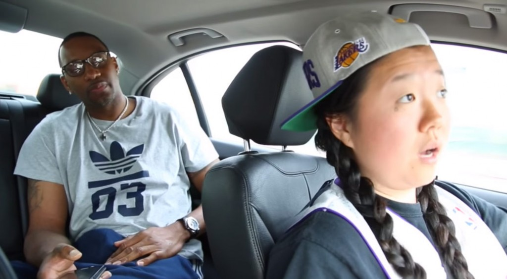 Laker Fan & Luber Driver Lil' Tasty Picks Up Tracy McGrady