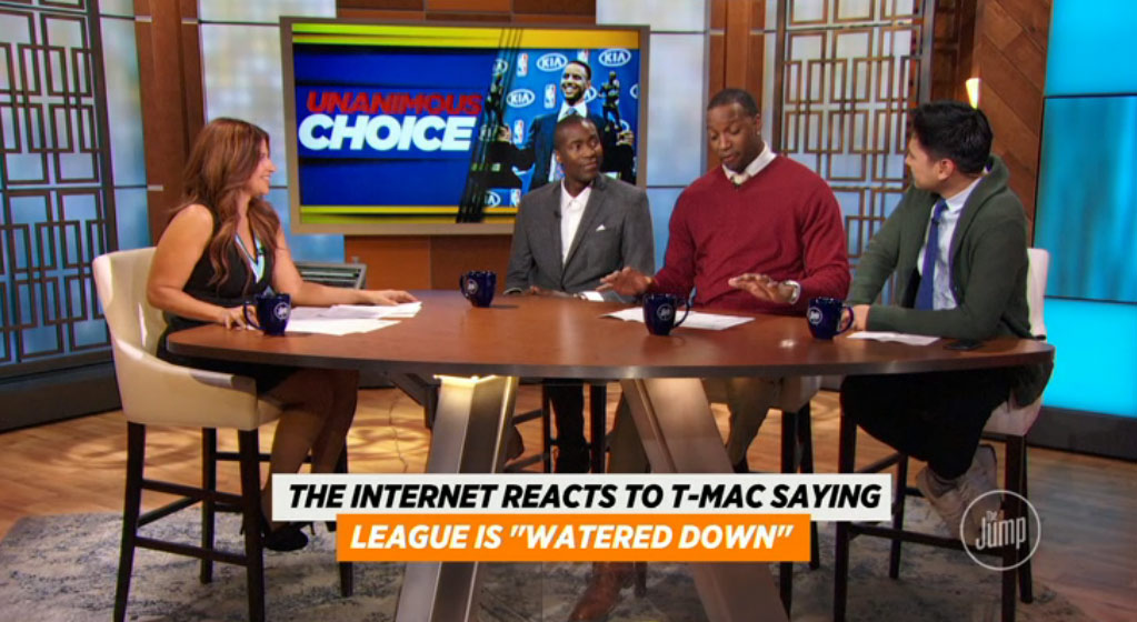 """Tracy McGrady Defends His """"League Is Watered Down"""" Comments"""
