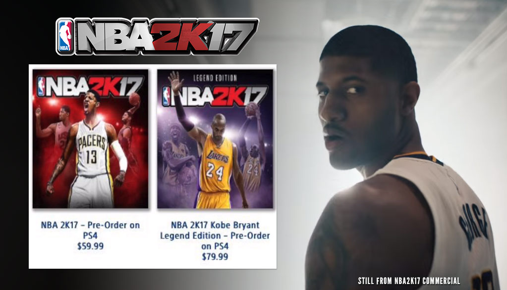 Leaked Pic Reveals Paul George Is The NBA 2k17 Cover Athlete