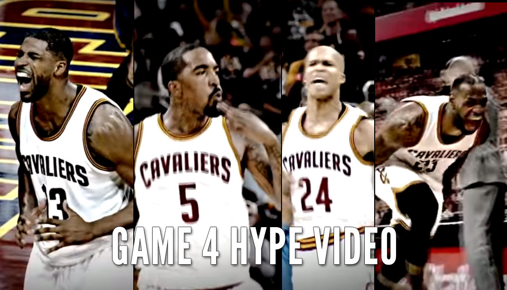 Lots of Yelling & No Love In Cavs Hype Video For GM4