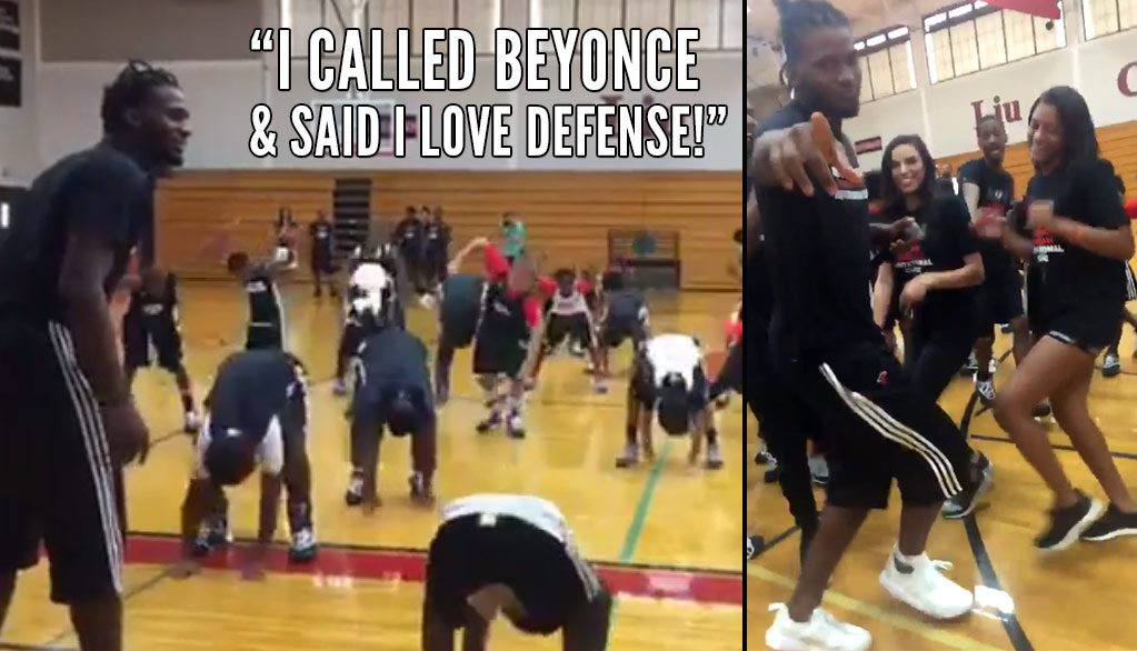 "We Need More Basketball Camps Like Justise Winslow's FREE ""I Love Defense"" One In Houston"