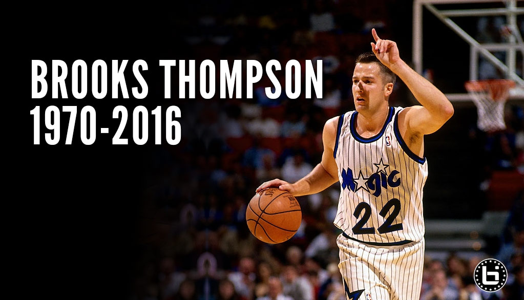 Former NBA Player & College Coach Brooks Thompson Dies At Age 45