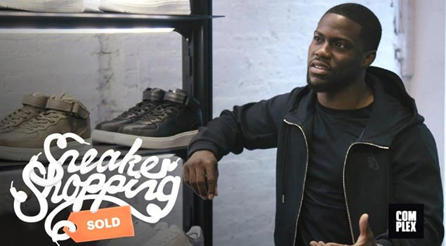 Sneaker Shopping With Kevin Hart