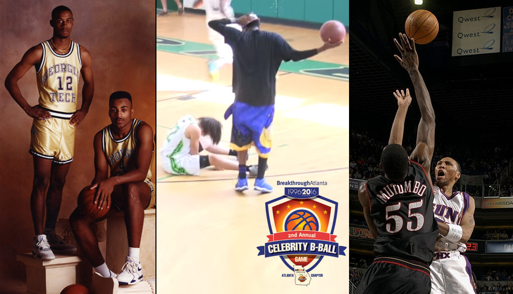 Ankle Breaking Legends Kenny Anderson & Hot Sauce Will Play In Upcoming BreakthroughAtlanta Celeb Game