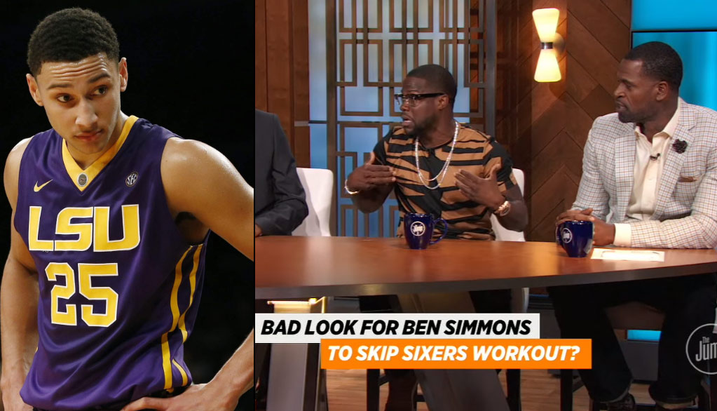 Kevin Hart Calls Out Ben Simmons For Declining 76ers Workout