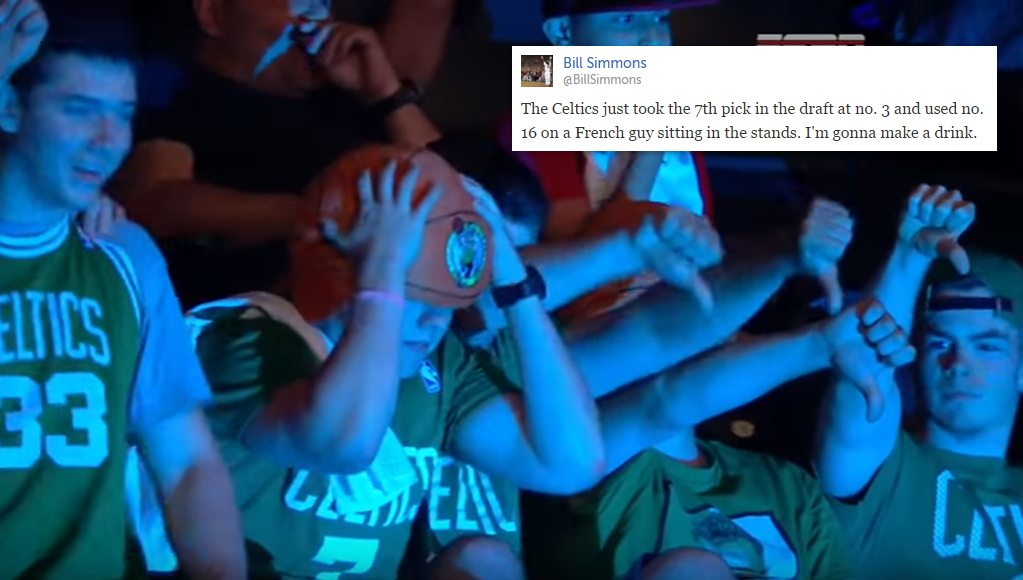 Boston Fans Boo Celtics Picks Jaylen Brown and Ante Zizic