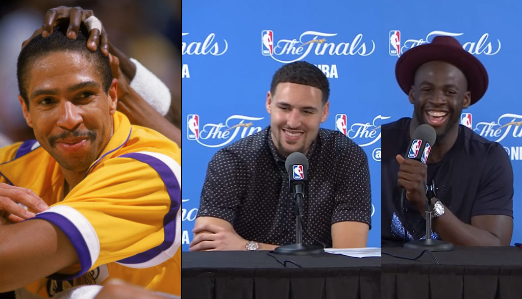 """Klay Thompson Takes A Jab At His Dad, """"We Were Better Than The Showtime Lakers"""""""