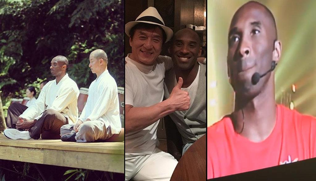 Kobe Bryant Gets Spiritual & Emotional During Mamba Mentality Tour In Asia