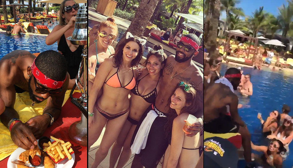 "Kyrie Irving Responds To Silly Critics Of His ""White Girls"" Yacht Party"