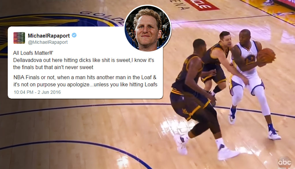 NBA Finals GM1 Hilariously Narrated By Michael Rapaport