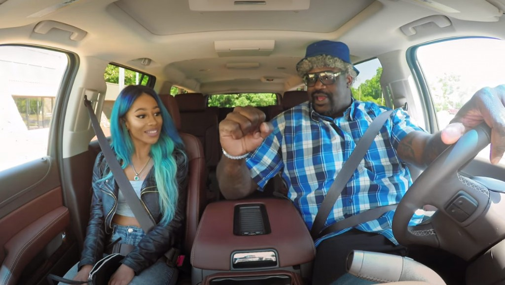 Shaq Pretends To Be A Lyft Driver, Meets Kobe & Mutombo Fans