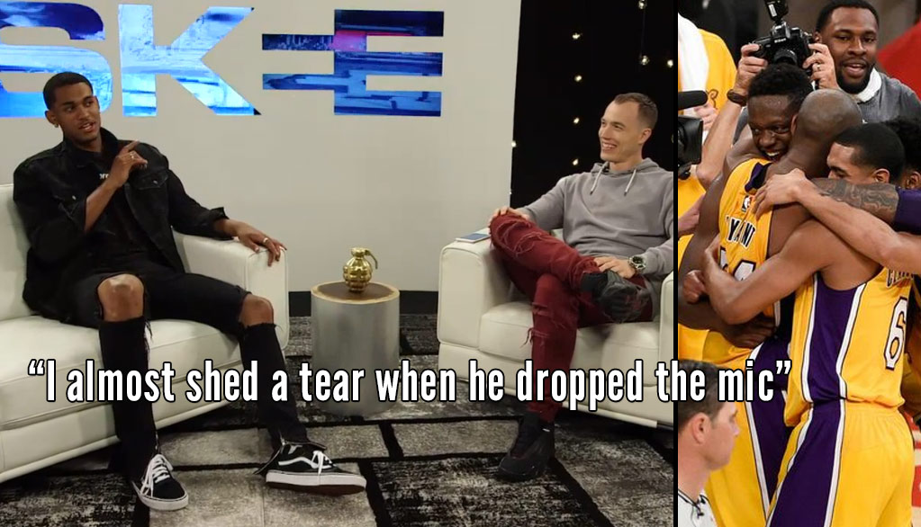Jordan Clarkson Talks About Kobe's Final Game on Skee TV